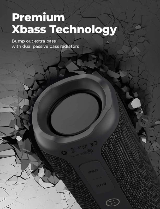 Tribit StormBox 360° 防水藍牙無線喇叭