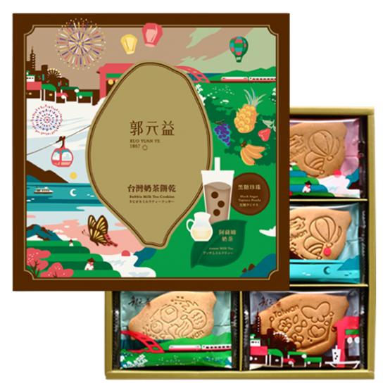 郭元益 - 台灣奶茶餅乾 [12/入]
