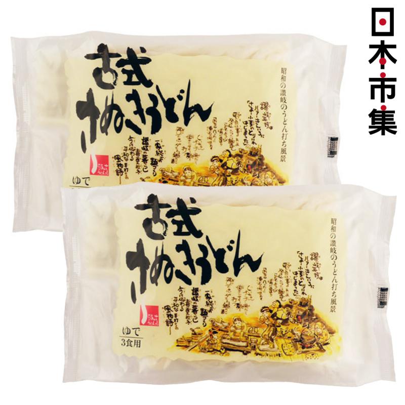 日本 三洋食品 古式讚岐烏冬麵 (180g x3包) (2件裝)【市集世界 - 日本市集】