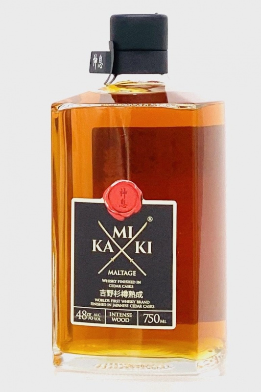 Kamiki 神息吉野杉樽熟成 750ml 禮盒裝- 09042845
