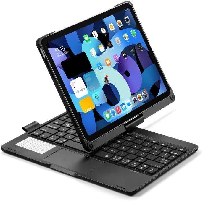 iPad Air 4 10.9, iPad Pro 11 2020/2018轉動藍牙Keyboard (3色)