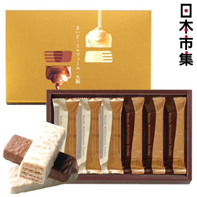 日版Morozoff 黑白朱古力威化條禮盒 (1盒6件)【市集世界 - 日本市集】