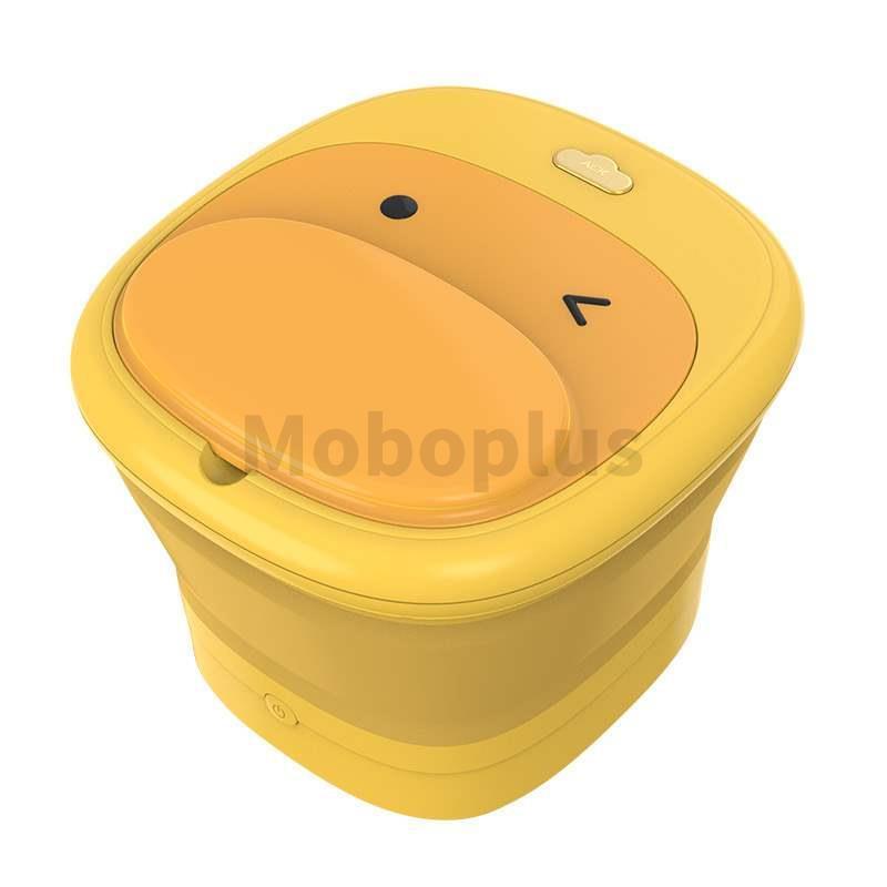ACK 折疊足浴盆 泡腳鴨黃色款 3-5天發貨