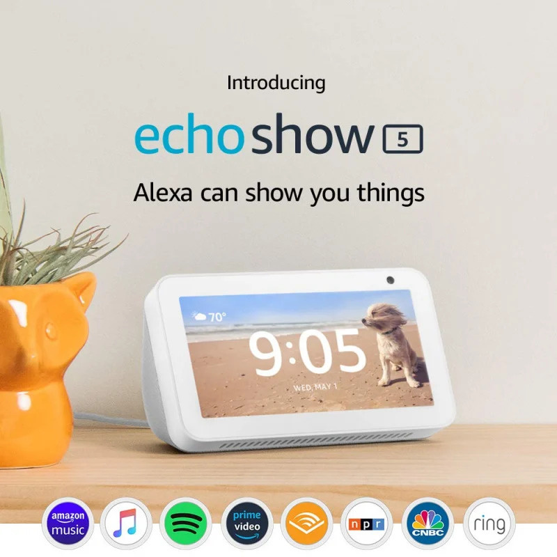 Amazon Echo Show 5 智能喇叭 [2色]