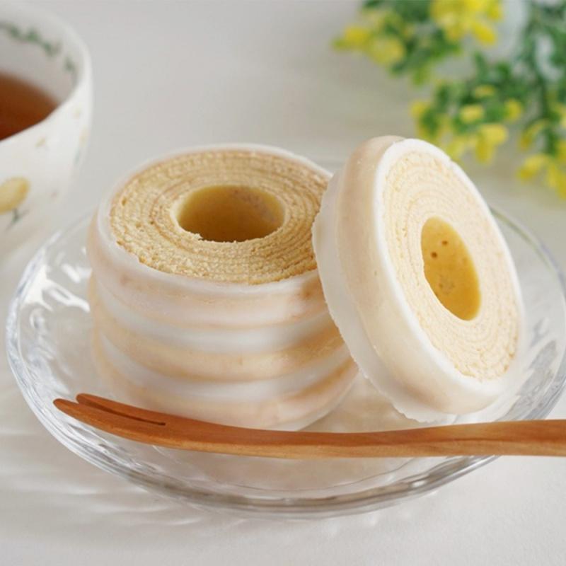 日本Juchheim 4層皇牌白朱古力迷你年輪蛋糕禮盒 100g【市集世界 - 日本市集】