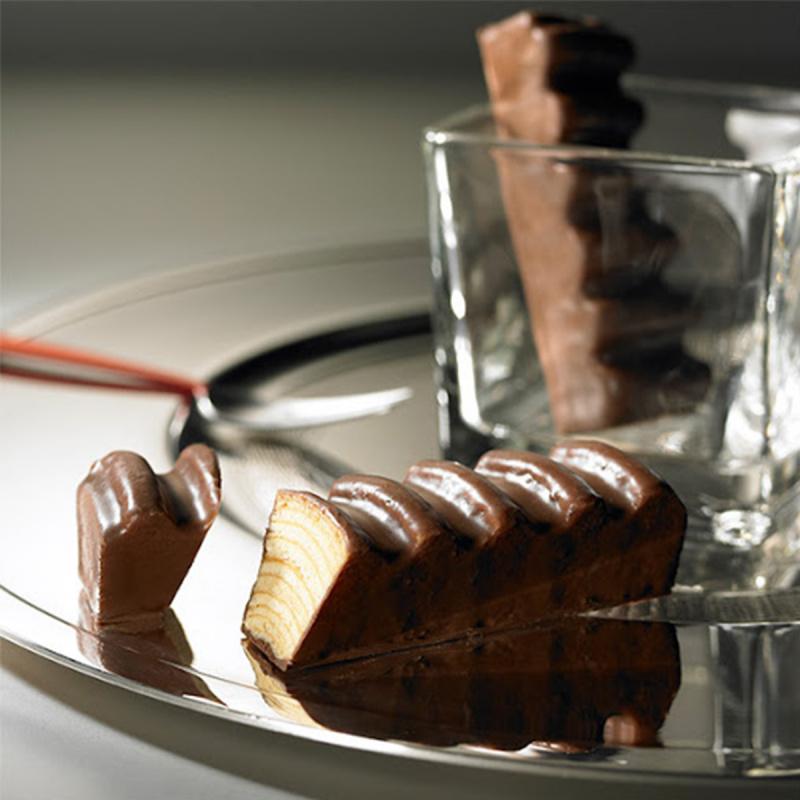 日本Juchheim 季節限定 朱古力脆皮年輪蛋糕 切件獨立包裝禮盒 (1盒5件)【市集世界 - 日本市集】
