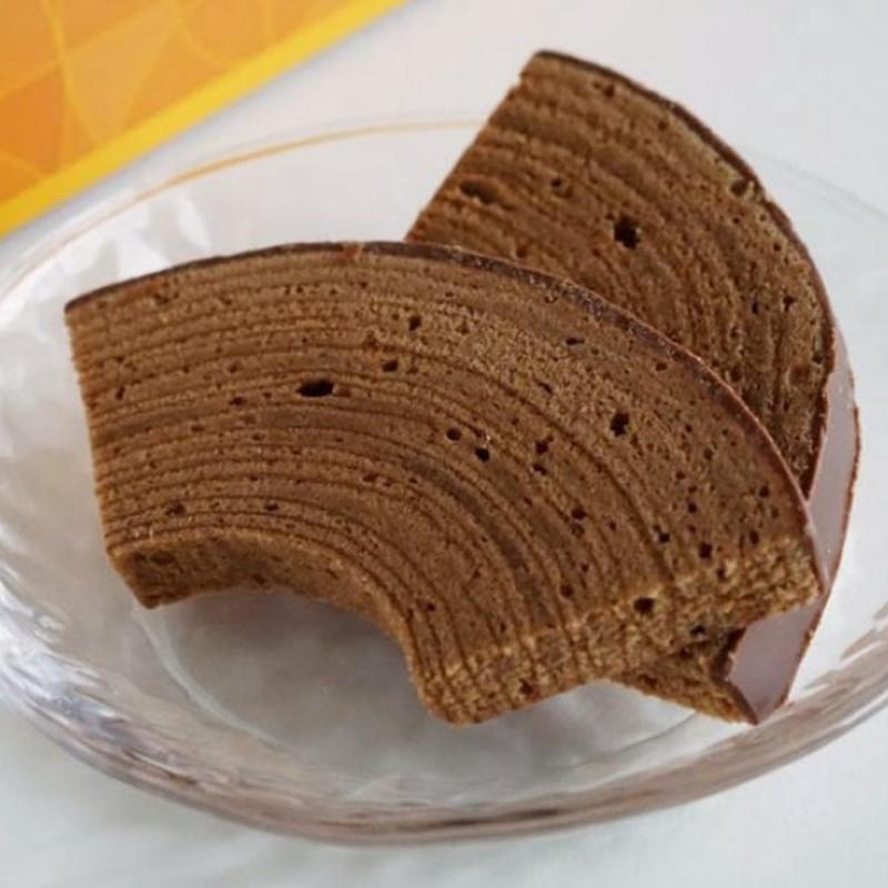 日本Juchheim 迷你朱古力年輪蛋糕 切件獨立包裝禮盒 (1盒7件)【市集世界 - 日本市集】