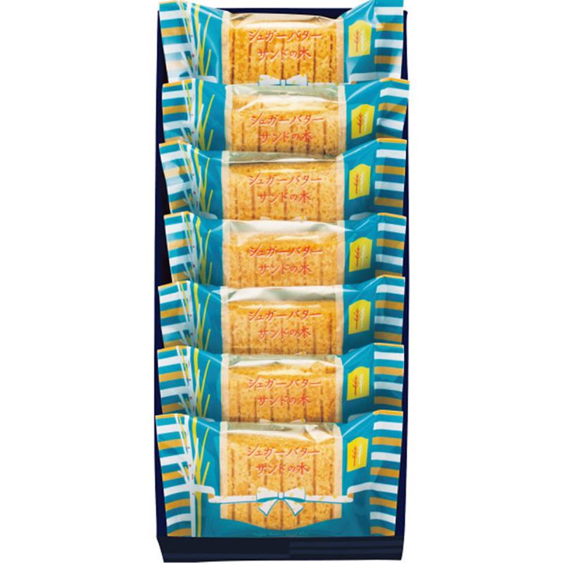 日版Sugar Butter Tree 招牌忌廉白朱古力夾心酥餅禮盒 (1盒7件)【市集世界 - 日本市集】