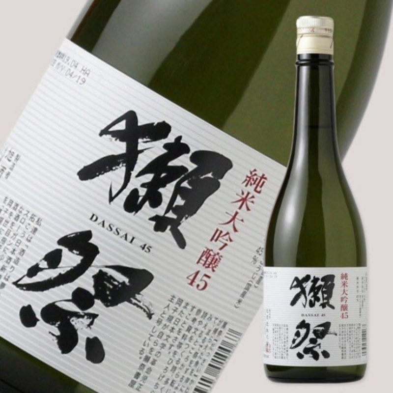 獺祭 純米大吟釀 45 (日本直送720ml)