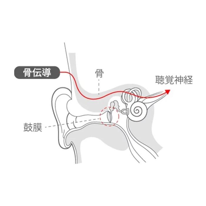 【真 · 無線骨傳導耳機】earsopen PEACE TW-1 [7-10工作天寄出]