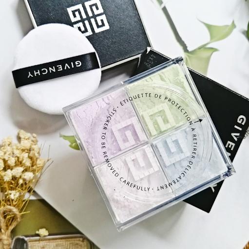 Givenchy Prisme Libre Mat-Finish & Enhanced Radiance Loose Powder N1 Mousseline Pastel 輕盈無痕明星四色散粉1號色 12g
