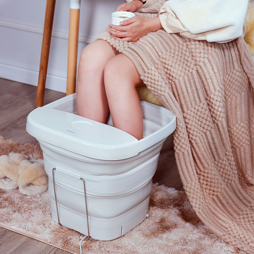 Nathome 新版可折疊高桶足浴盆 NZY810 [3腳插頭]