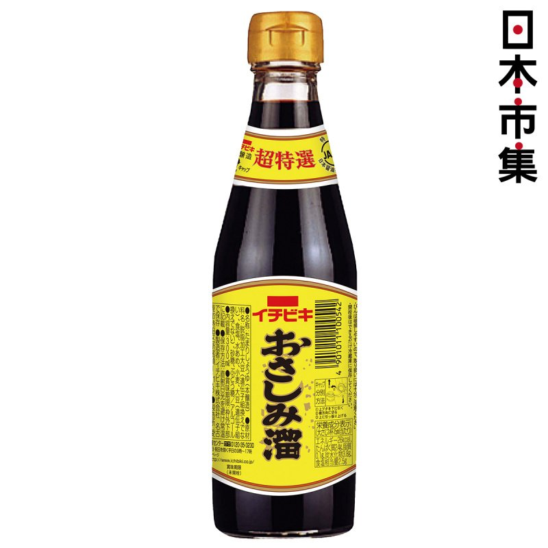 日本 イチビキ 魚生刺身 超特選級醬油 300ml【市集世界 - 日本市集】