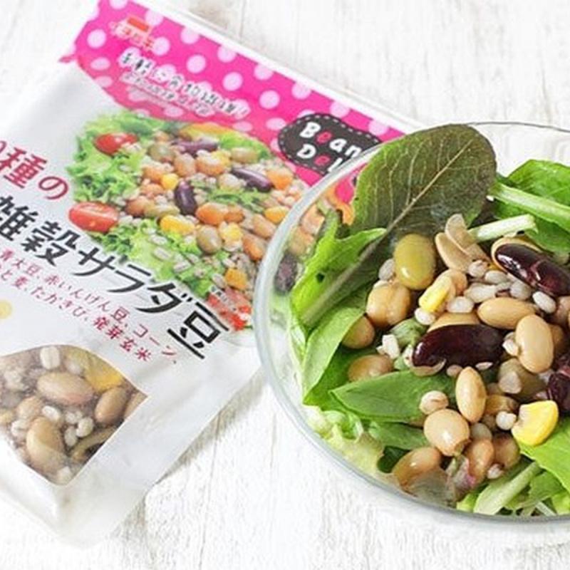 日本 イチビキ 健康即食熟豆 蒸10色雜穀沙律豆 65g (2件裝)【市集世界 - 日本市集】