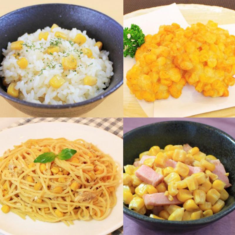 日本 イチビキ 健康即食熟豆 蒸北海道甜粟米 60g (2件裝)【市集世界 - 日本市集】