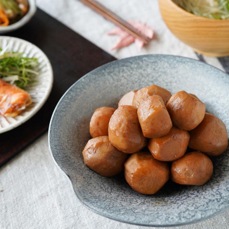 日本 イチビキ 無添加即食前菜料理 鰹魚昆布味芋丸 75g (2件裝)【市集世界 - 日本市集】