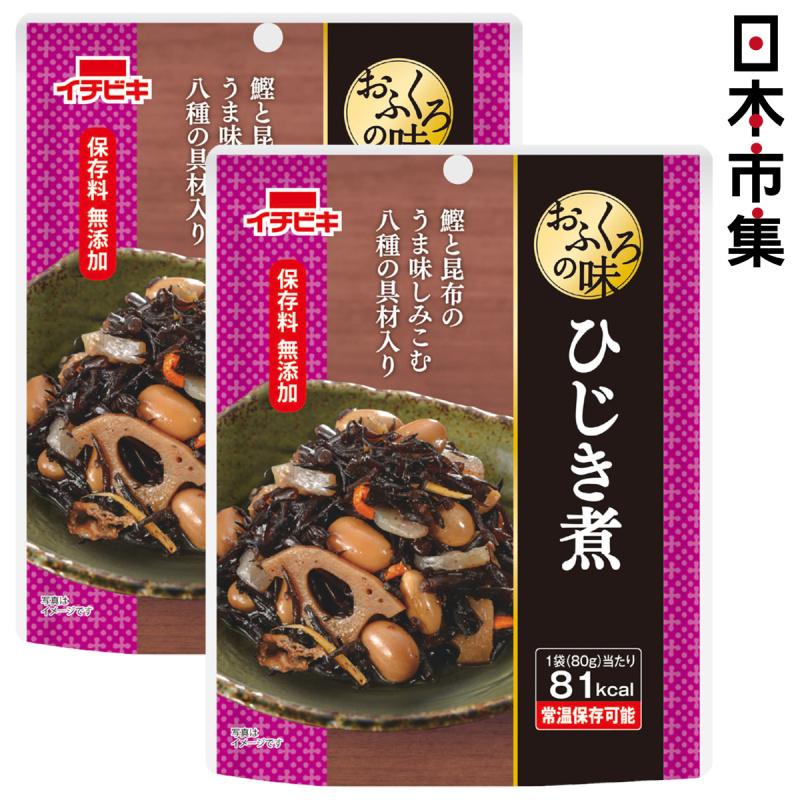 日本 イチビキ 無添加即食前菜料理 鰹魚昆布味雜錦蔬菜 80g (2件裝)【市集世界 - 日本市集】