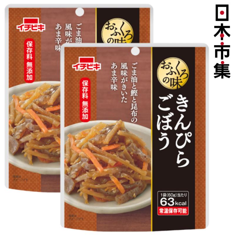 日本 イチビキ 無添加即食前菜料理 鰹魚昆布芝麻辣味蔬菜絲 60g (2件裝)【市集世界 - 日本市集】