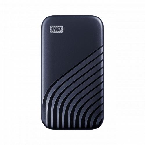 WD My Passport™ SSD 便攜式硬盤 (500GB / 1TB / 2TB) 深灰色