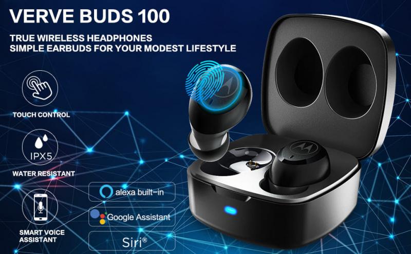 Motorola Verve Buds 100 真無線藍牙耳機