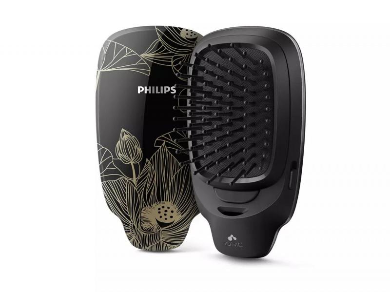 Philips HP4722 負離子造型髮梳(黑色)
