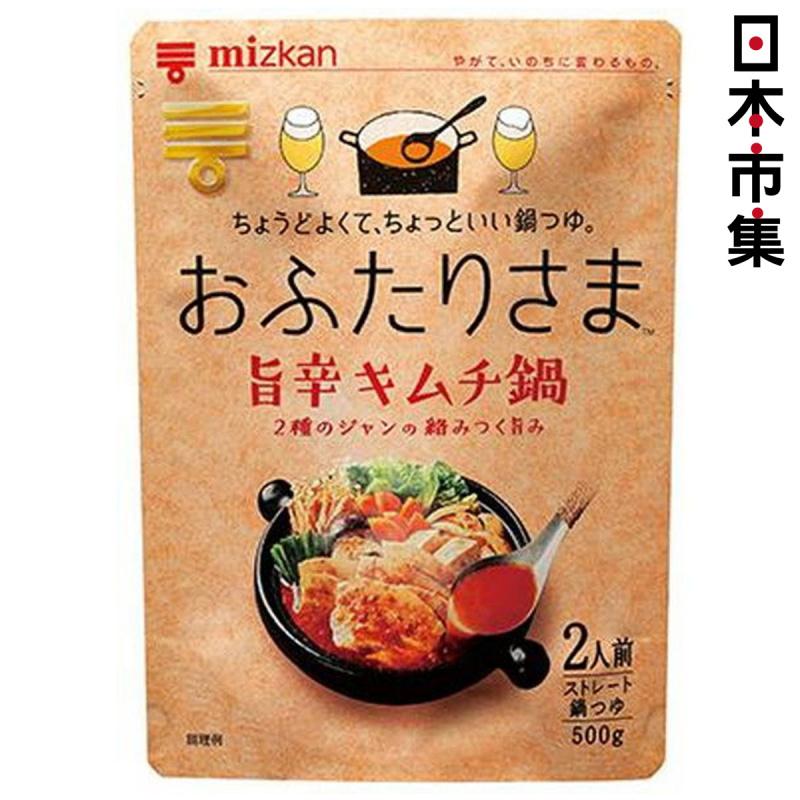 日本Mizkan 湯包 豪華韓式泡菜辛辣 火鍋湯底 500g【市集世界 - 日本市集】
