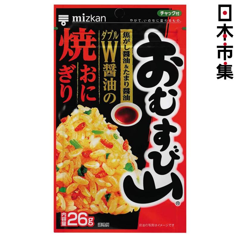 日本Mizkan 飯素 烤飯團蕃茄醬油味 26g【市集世界 - 日本市集】