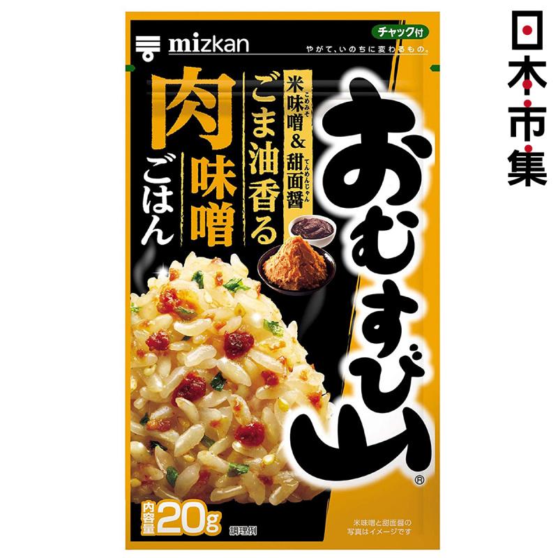 日本Mizkan 飯素 麻油香肉味噌 20g【市集世界 - 日本市集】