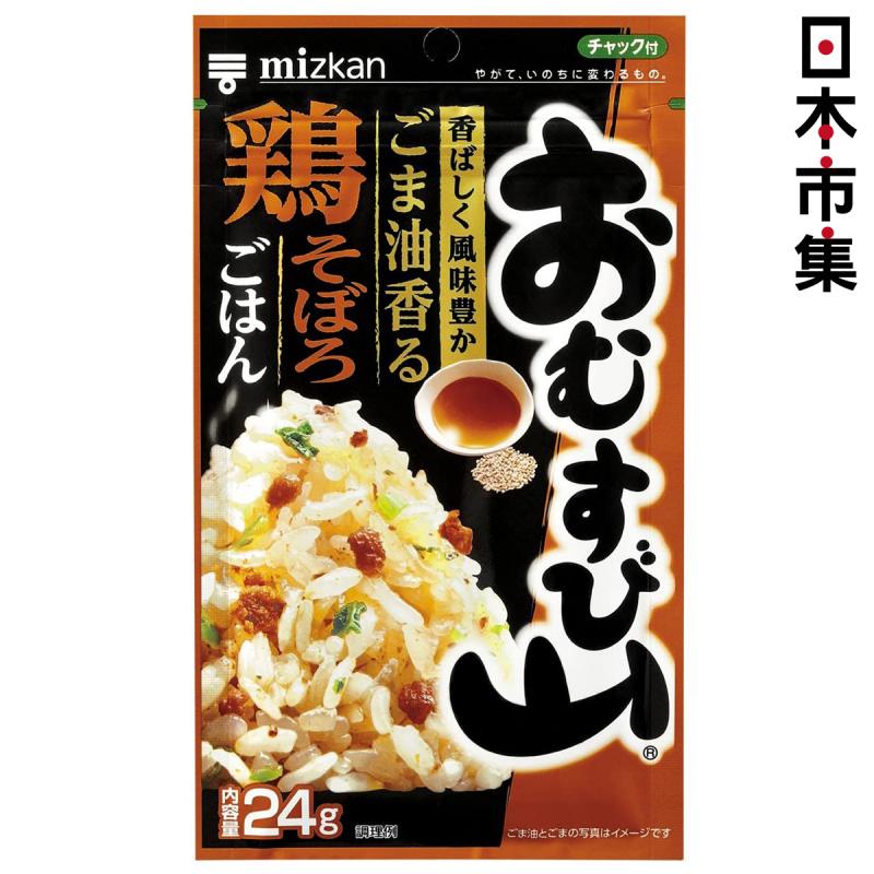 日本Mizkan 飯素 麻油香辣雞味 24g【市集世界 - 日本市集】