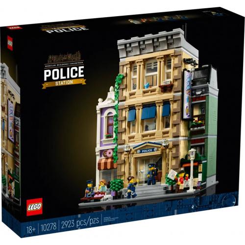 LEGO®Creator Expert 10278 警局 (模型, 街景)