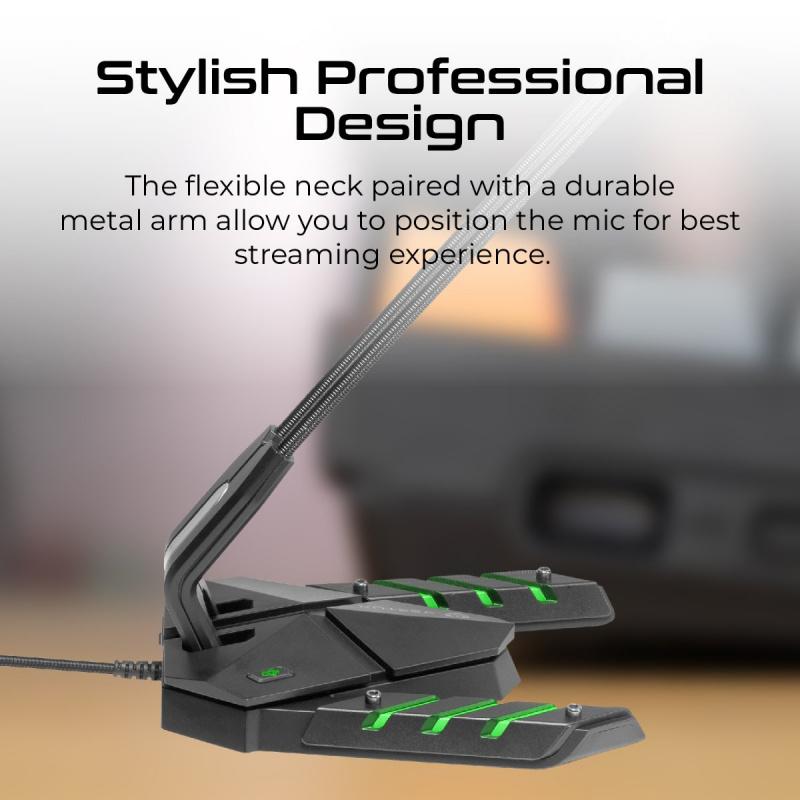 Vertux Streamer 3- 高強度防震遊戲咪