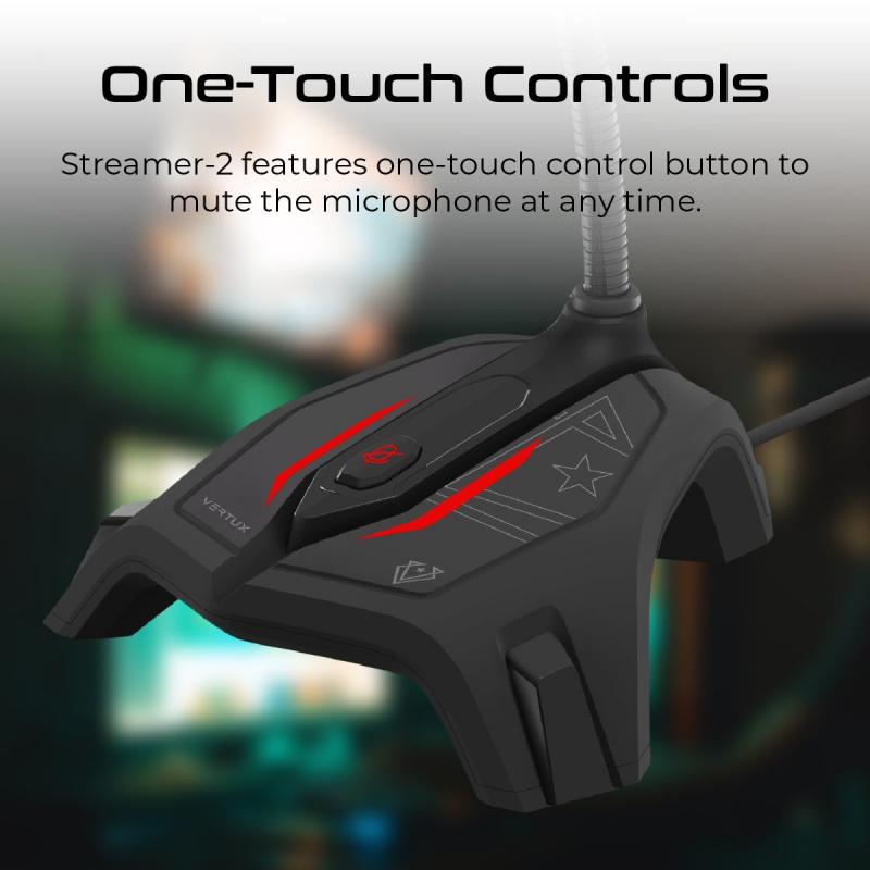 Vertux Streamer 2 全向免失真高靈敏度遊戲咪
