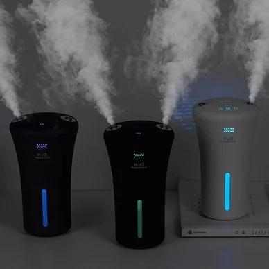 日本H2O HUMIDIFIER 雙噴霧負離子加濕器 2-5天發出