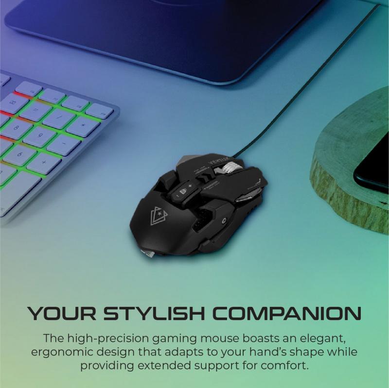 Vertux Indium - 遊戲優化精密有線鼠標