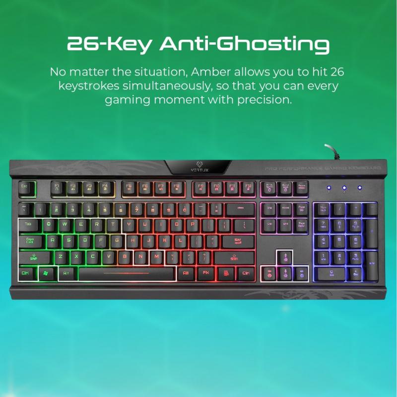 Vertux Amber - 專業性能遊戲鍵盤