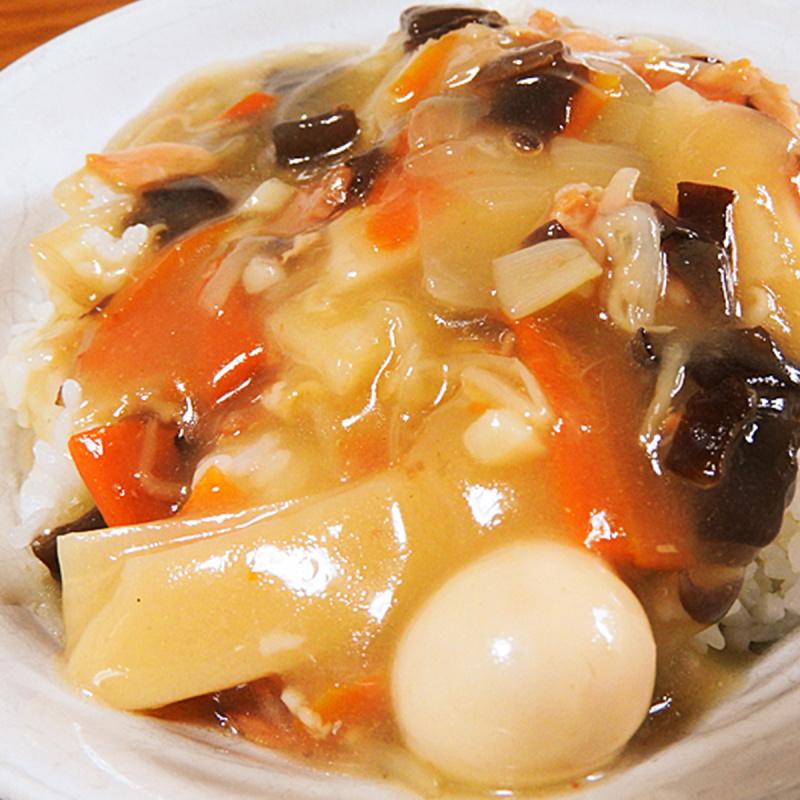 日本 三菱控糖 即食丼 減糖35% 鵪鶉蛋9款食材濃味 中華丼 210g【市集世界 - 日本市集】