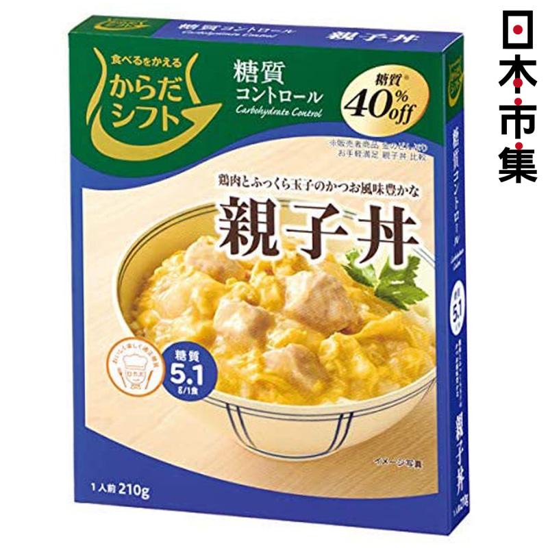 日本 三菱控糖 即食丼 減糖40% 鰹魚味雞肉雞蛋 親子丼 210g【市集世界 - 日本市集】
