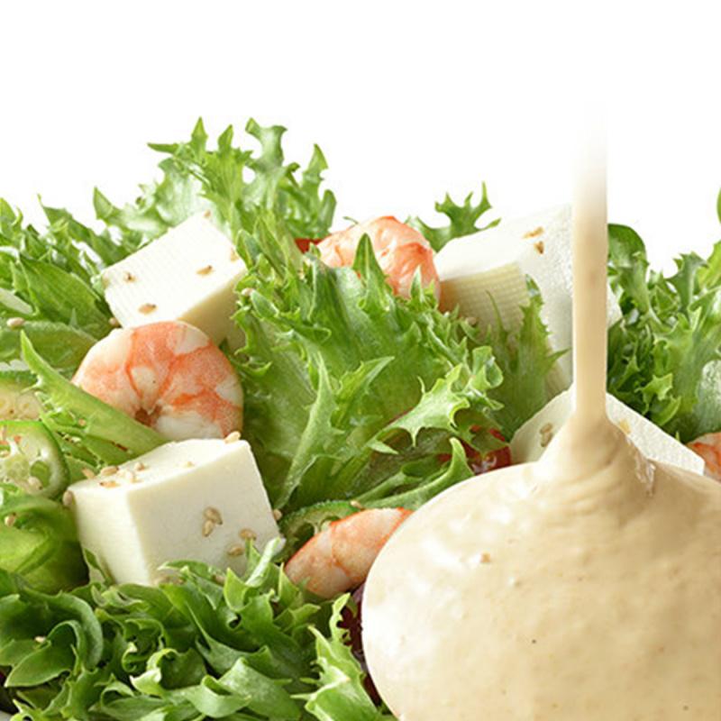 日本 三菱控糖 沙律醬 減糖60% 奶油培煎芝麻醬 170g【市集世界 - 日本市集】