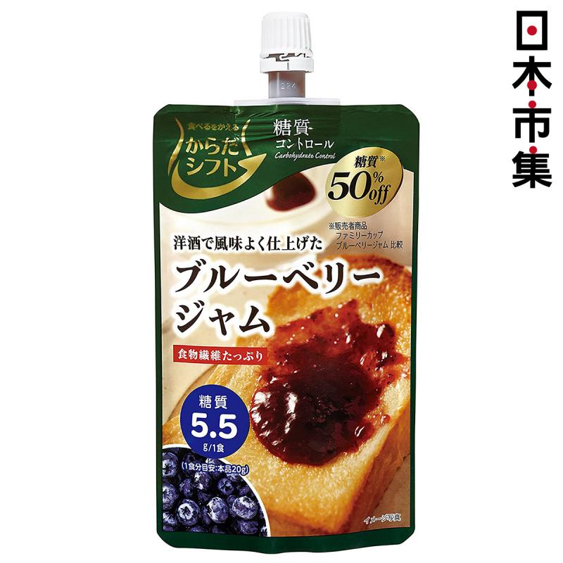日本 三菱控糖 果醬 減糖50% 洋酒風味藍莓果醬 110g【市集世界 - 日本市集】