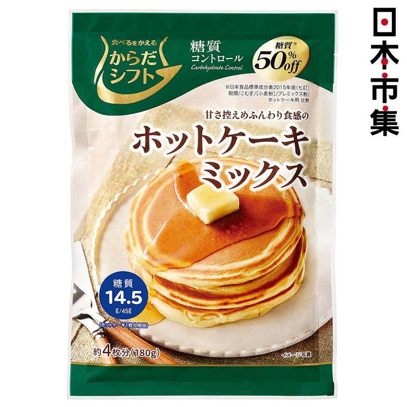 日本 三菱控糖 預伴粉 減糖50% 熱香餅班戟預拌粉 180g【市集世界 - 日本市集】