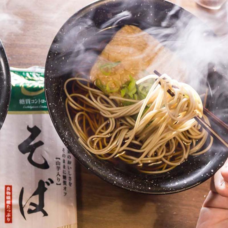 日本 三菱控糖 麵食 減糖40% 高纖蕎麥麵 (2人前) 160g【市集世界 - 日本市集】