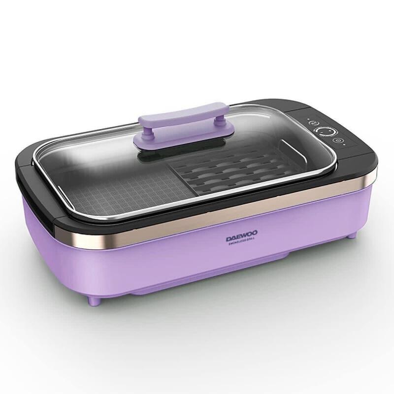 Daewoo 大宇 無煙電燒烤爐 SK1 (別注升級版) (紫色)