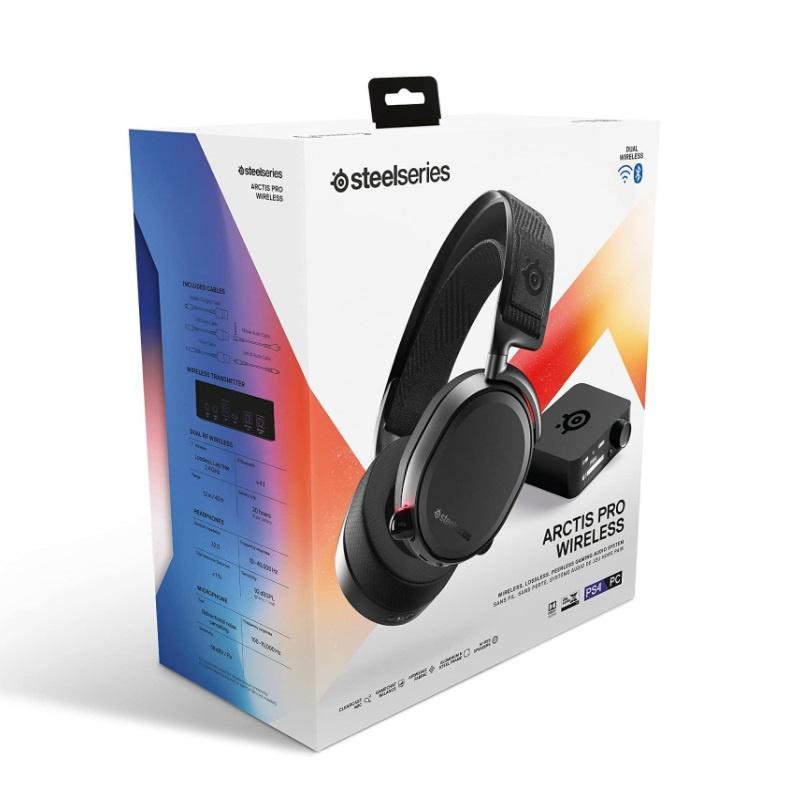 【香港行貨】 Steelseries Arctis Pro Wireless - Black