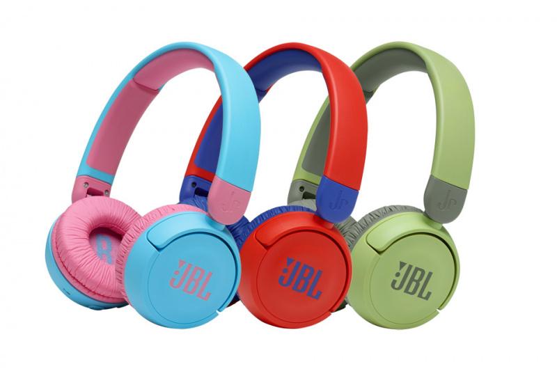 JBL Kids Wireless On-Ear Headphones 兒童專用學習耳罩 JR310BT