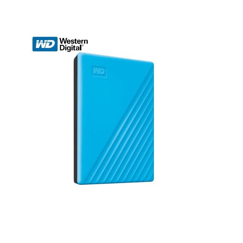 【香港行貨】 Western Digital My Passport 5TB USB3.0 HDD - Blue (WDBPKJ0050BBL)