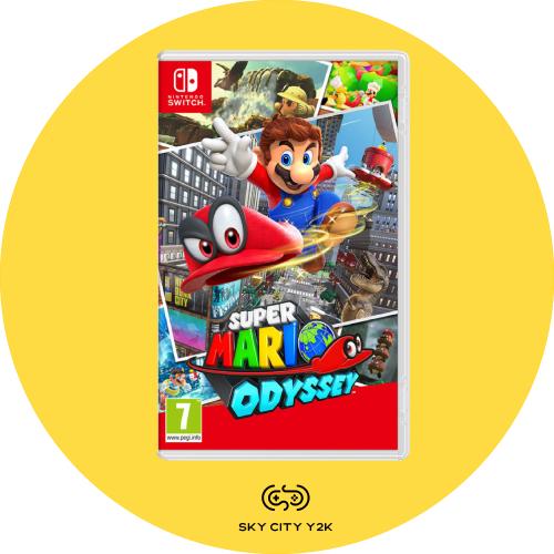 Nintendo Switch - Super Mario Odyssey 超級瑪利歐 - 奧德賽