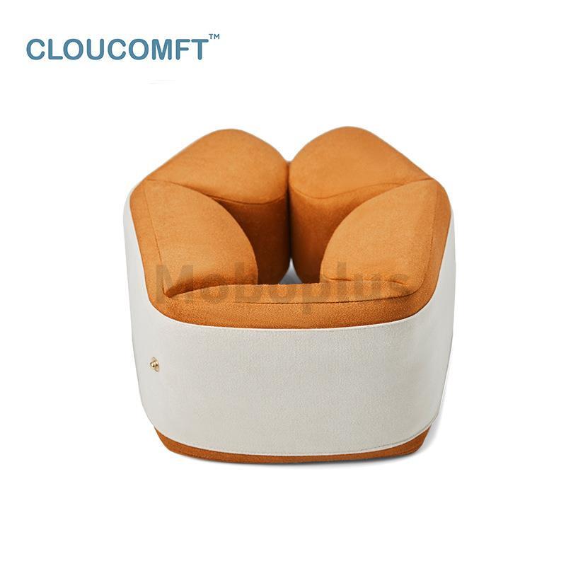 CLOUCOMFT 竹炭記憶棉U型枕 3-5天發出
