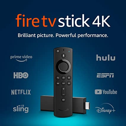 AMAZON - Amazon Fire TV Stick 4K (含Alexa 語音遙控器) 平行進口