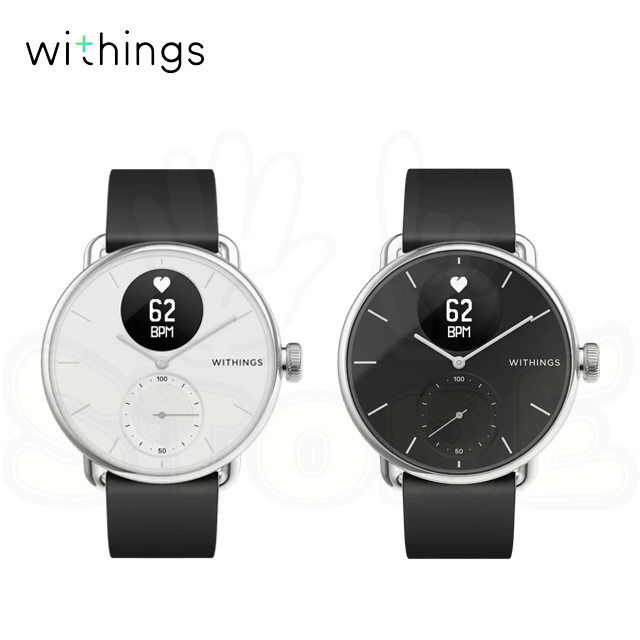 Withings ScanWatch 38mm 智能心率手錶