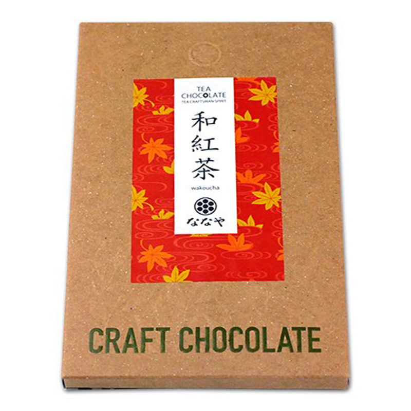 日本 丸七製茶ななや 手工製和紅茶 日式朱古力 50g【市集世界 - 日本市集】